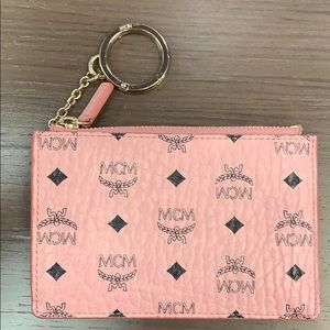 MCM Change Purse with Key Ring